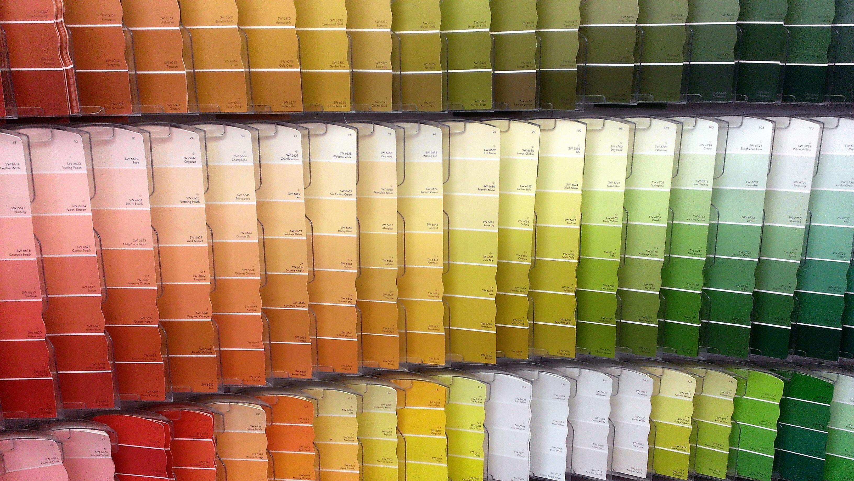 Scegliere i colori delle pareti Imbianchino a Roma